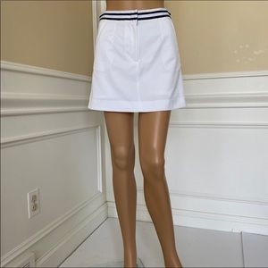 Tommy Hilfiger White golf skort